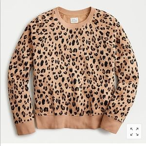 Vintage Cotton Leopard Sweatshirt